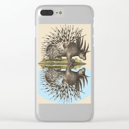 Who Are You Calling Porky? Clear iPhone Case