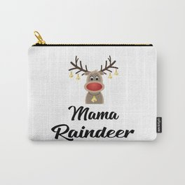 mama raindeer Carry-All Pouch