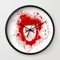 dexter Wall Clocks featuring Dexter by David
