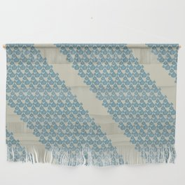 Blue drops Wall Hanging