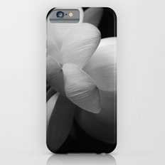 Black & White Lotus II iPhone 6s Slim Case