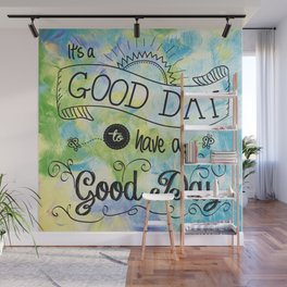 It's a Colorful Good Day by Jan Marvin Wall Mural