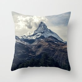Crushing Clouds Throw Pillow