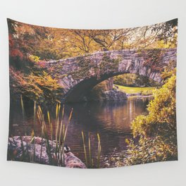 New York City Autumn Wall Tapestry