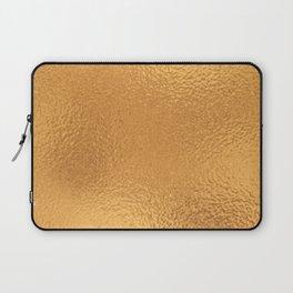 Simply Metallic in Bronze Laptop Sleeve