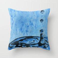 Drip. Drop. Throw Pillow