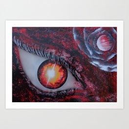 The Eye Of The Dragon Art Print