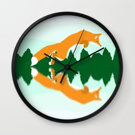 One Giant Leap Wall Clock