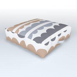 Mordidas Hazelnut Outdoor Floor Cushion