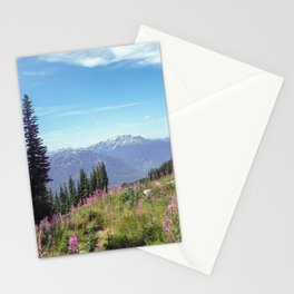 Summer Ski Slope in Whistler Stationery Cards