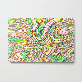 Color composition 18 Metal Print