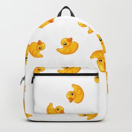 Rubber duck toy Backpack
