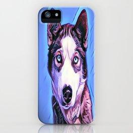 The Siberian Malamute iPhone Case