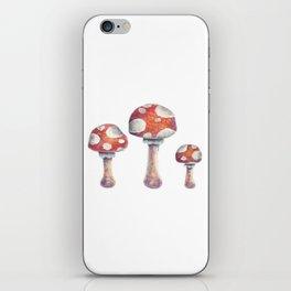 Fire Mushroom iPhone Skin