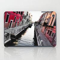 channel iPad Cases featuring Venice Channel by Karina Faiani