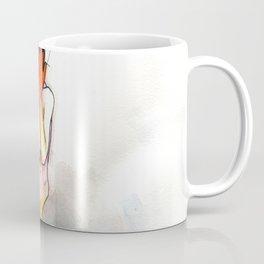 The Exclamation, male nude emotional, NYC artist Coffee Mug