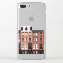 West Village, New York, NYC Clear iPhone Case