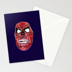 Spidey Skull Stationery Cards