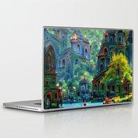 peru Laptop & iPad Skins featuring Ceti Peru by Bunny Clarke