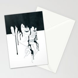 Quiet and Content Stationery Cards