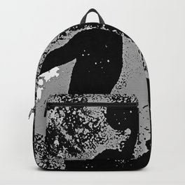 SLAM DUNK IN BLACK AND WHITE Backpack