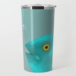 Silent as a Fish Travel Mug