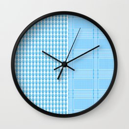 Hamsa Chimagh blue Wall Clock