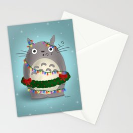 Singing Christmas Totoro Stationery Cards