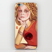 thundercats iPhone & iPod Skins featuring Thunder cub Cheetara by Sheharzad
