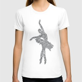 Doodle Dancer by Lady Lorelie T-shirt