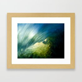 Motion Blur - Encinitas, CA Framed Art Print