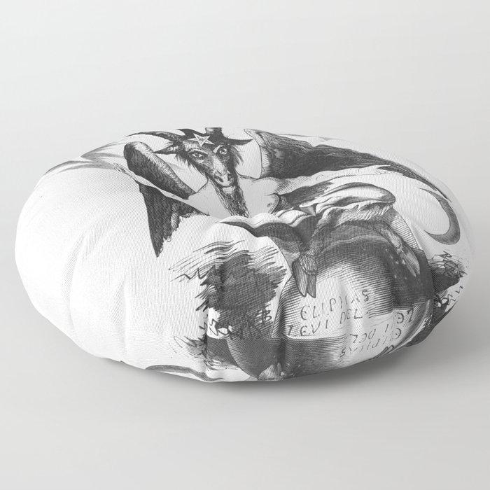 Baphomet - Satanic Church Floor Pillow