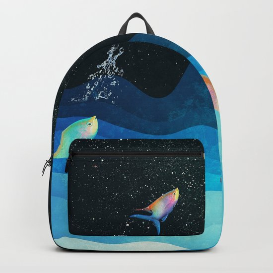 Come to reach the stars Backpack