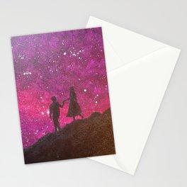 lovely night (Elea) Stationery Cards