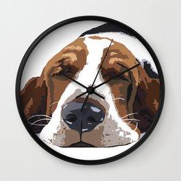 Workin' like a Dog Wall Clock