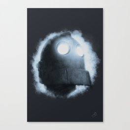 The Iron Giant Rises Canvas Print