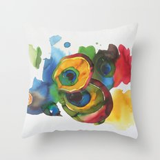 Colorful fish 3 Throw Pillow