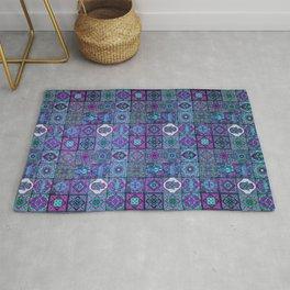 V14 Traditional Moroccan Pattern ART Design. Rug