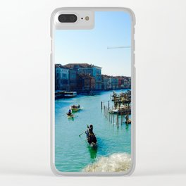 Canale di Venezia Clear iPhone Case