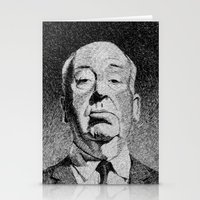 hitchcock Stationery Cards featuring Fingerprint - Hitchcock by Nicolas Jolly