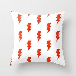 BOLT ((cherry red)) Throw Pillow