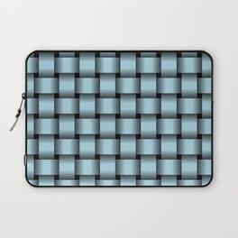 Light Blue Weave Laptop Sleeve