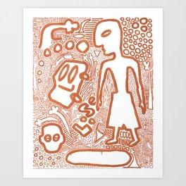 Loose Art Print