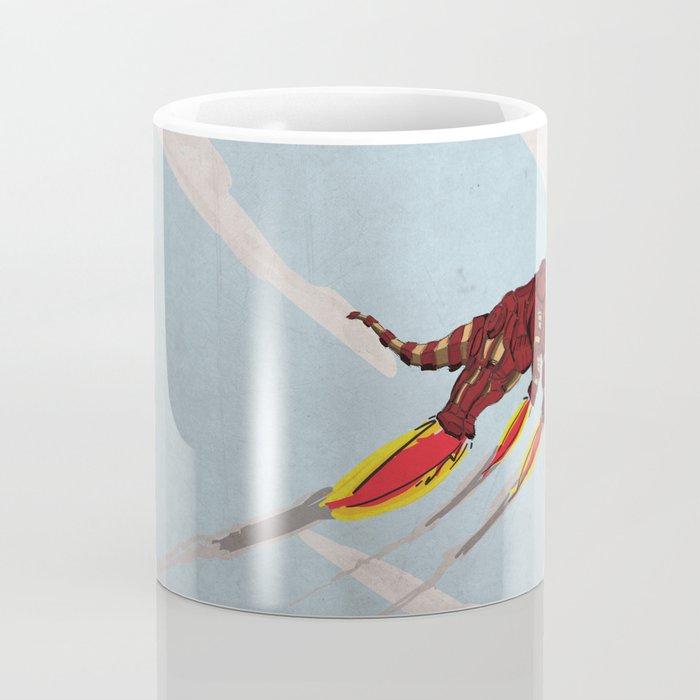 Iron Brontosaurus - Superhero Dinosaurs Series Coffee Mug