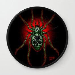 Arachnazrael Wall Clock