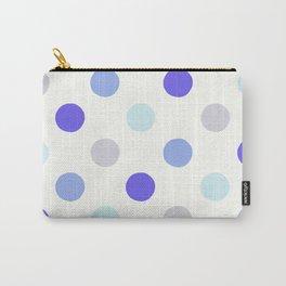 Rainy Polka Dots - Abstract Rain Carry-All Pouch