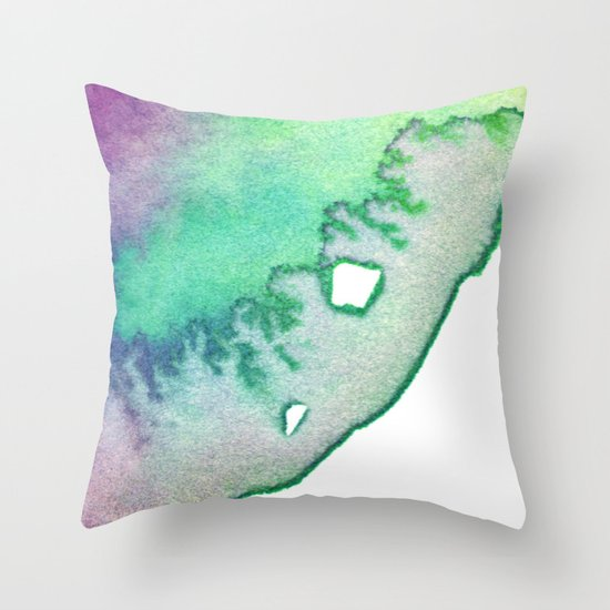 inkblot2 Throw Pillow