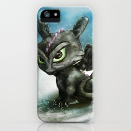 Hatchling Fury iPhone Case