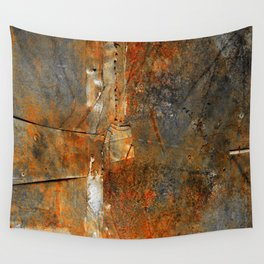 Rust Texture 72 Wall Tapestry