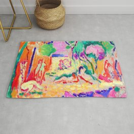 Henri Matisse Joy of Life Rug